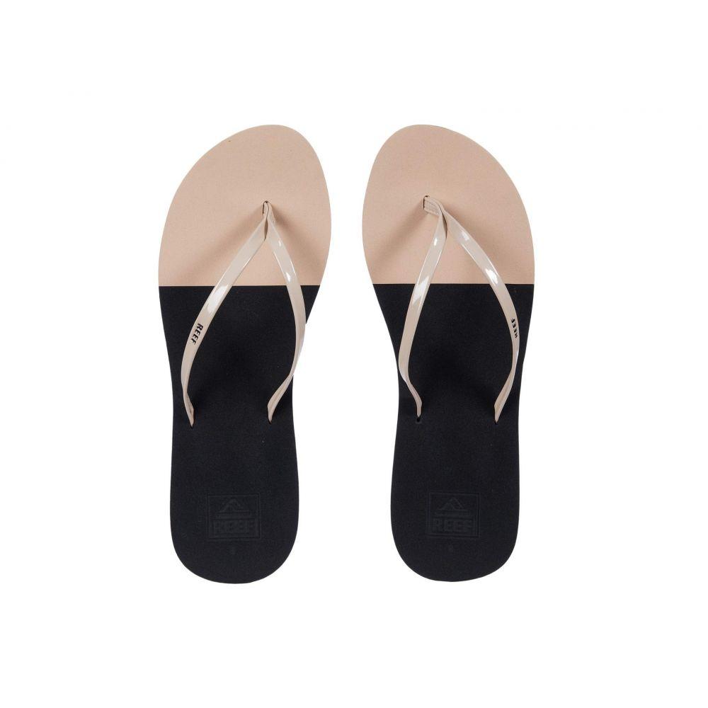 リーフ Reef レディース ビーチサンダル シューズ・靴【Bliss Toe Dip】Black/Nude