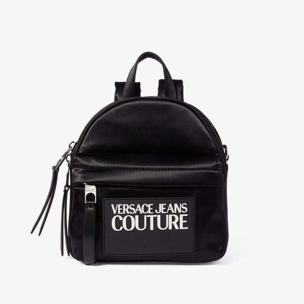 ヴェルサーチ Versace Jeans Couture レディース バックパック・リュック バッグ【Logo Tag Mini Backpack】Black