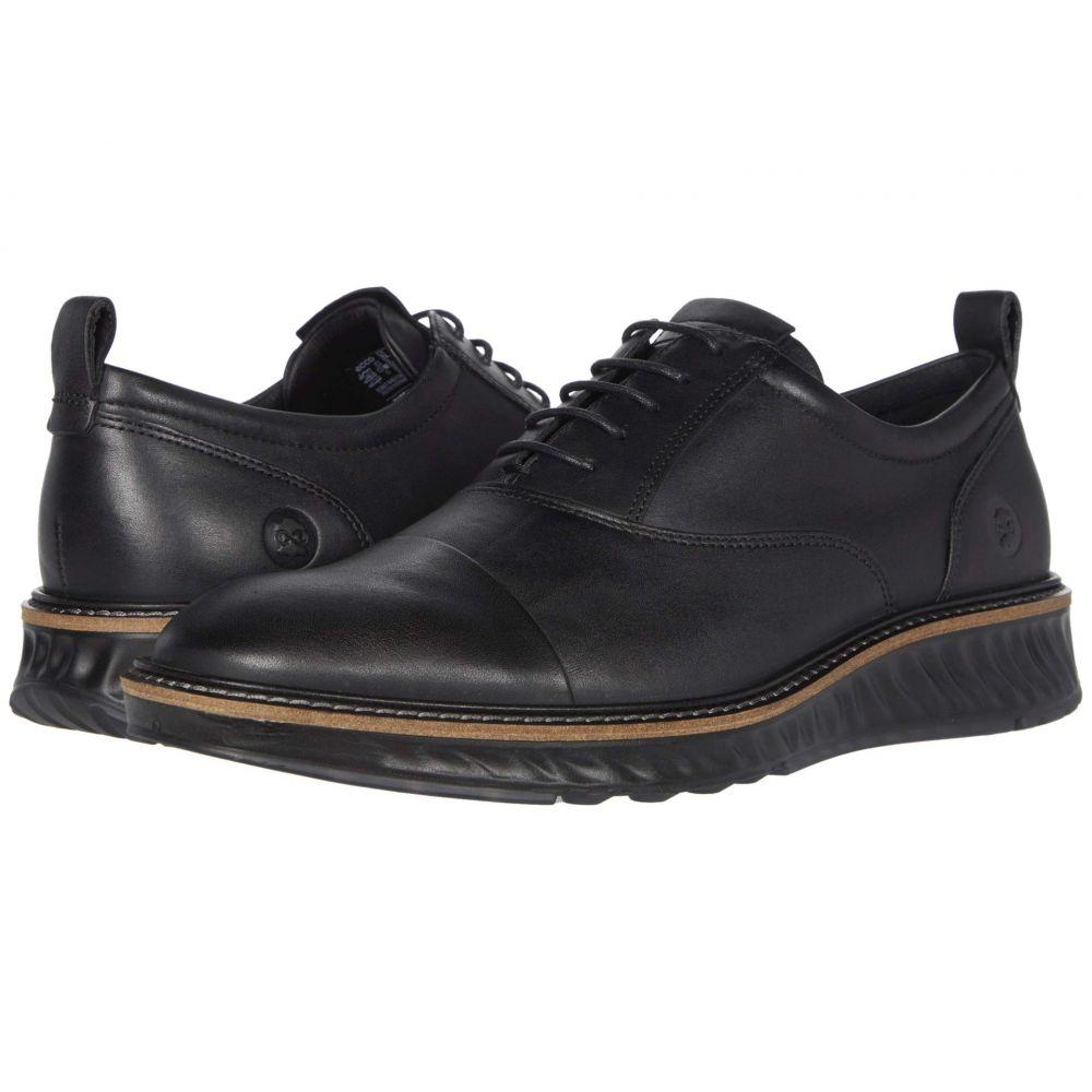 エコー ECCO メンズ 革靴・ビジネスシューズ シューズ・靴【ST.1 Hybrid Dri-Tan Cap Toe Tie】Black