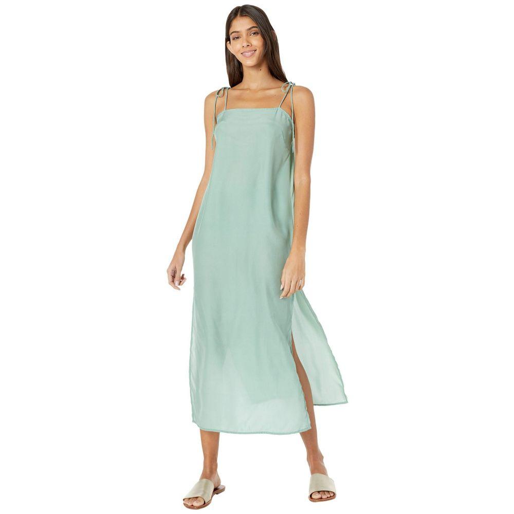 ミコースイムウェア MIKOH SWIMWEAR レディース ビーチウェア スリップドレス ワンピース・ドレス 水着・ビーチウェア【Okayama Silk Slip Cover-Up Dress】Maui Meadow