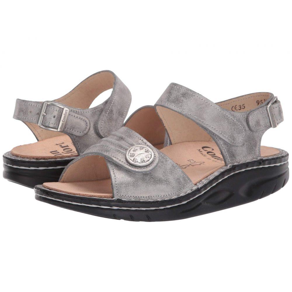 フィンコンフォート Finn Comfort レディース サンダル・ミュール シューズ・靴【Sausalito - 1572】Silver