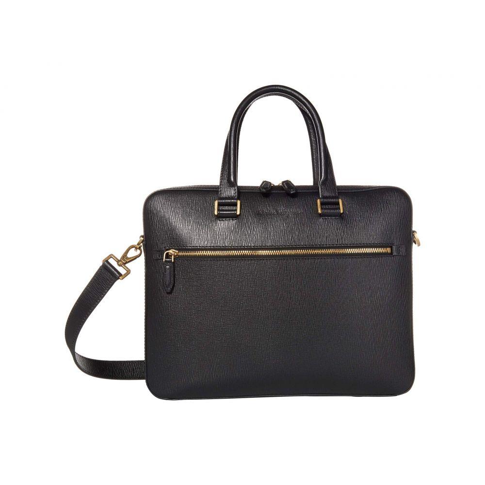 サルヴァトーレ フェラガモ Salvatore Ferragamo メンズ ビジネスバッグ・ブリーフケース バッグ【Revival 3.0 Briefcase】Black