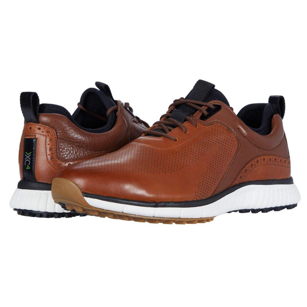 ジョンストン&マーフィー Johnston & Murphy メンズ スニーカー シューズ・靴【Waterproof XC4 Golf H1-Luxe Hybrid Sneaker】Tan Waterproof Full Grain