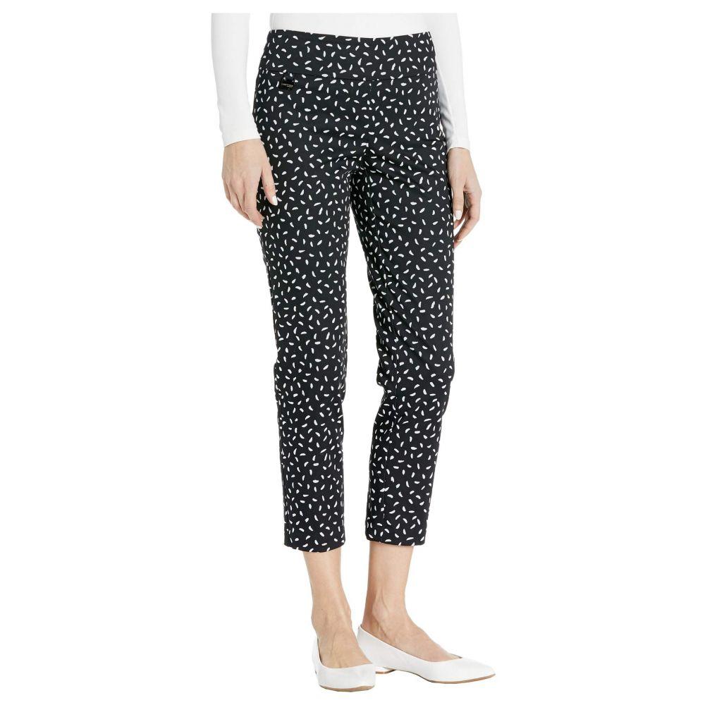 リゼッタ Lisette L Montreal レディース クロップド アンクル ボトムス・パンツ【Jackson Dot Pull-On Ankle Pants with Back Slit】Black/White