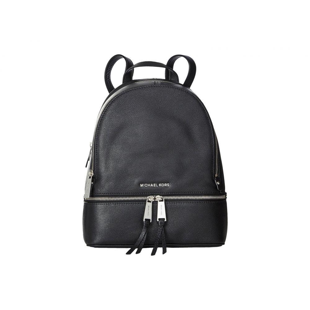 マイケル コース MICHAEL Michael Kors レディース バックパック・リュック バッグ【Rhea Zip Medium Backpack】Black