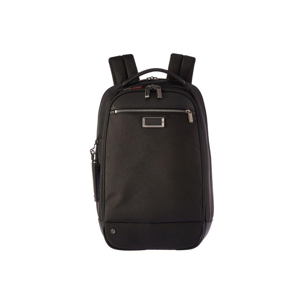 ブリッグスアンドライリー Briggs & Riley レディース バックパック・リュック バッグ【work Medium Slim Backpack】Black
