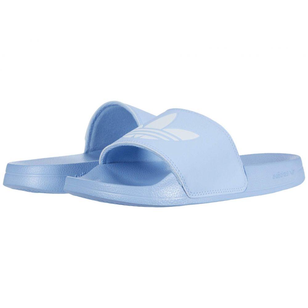 アディダス adidas レディース サンダル・ミュール シューズ・靴【Adilette Lite】Periwinkle/Footwear White/Periwinkle