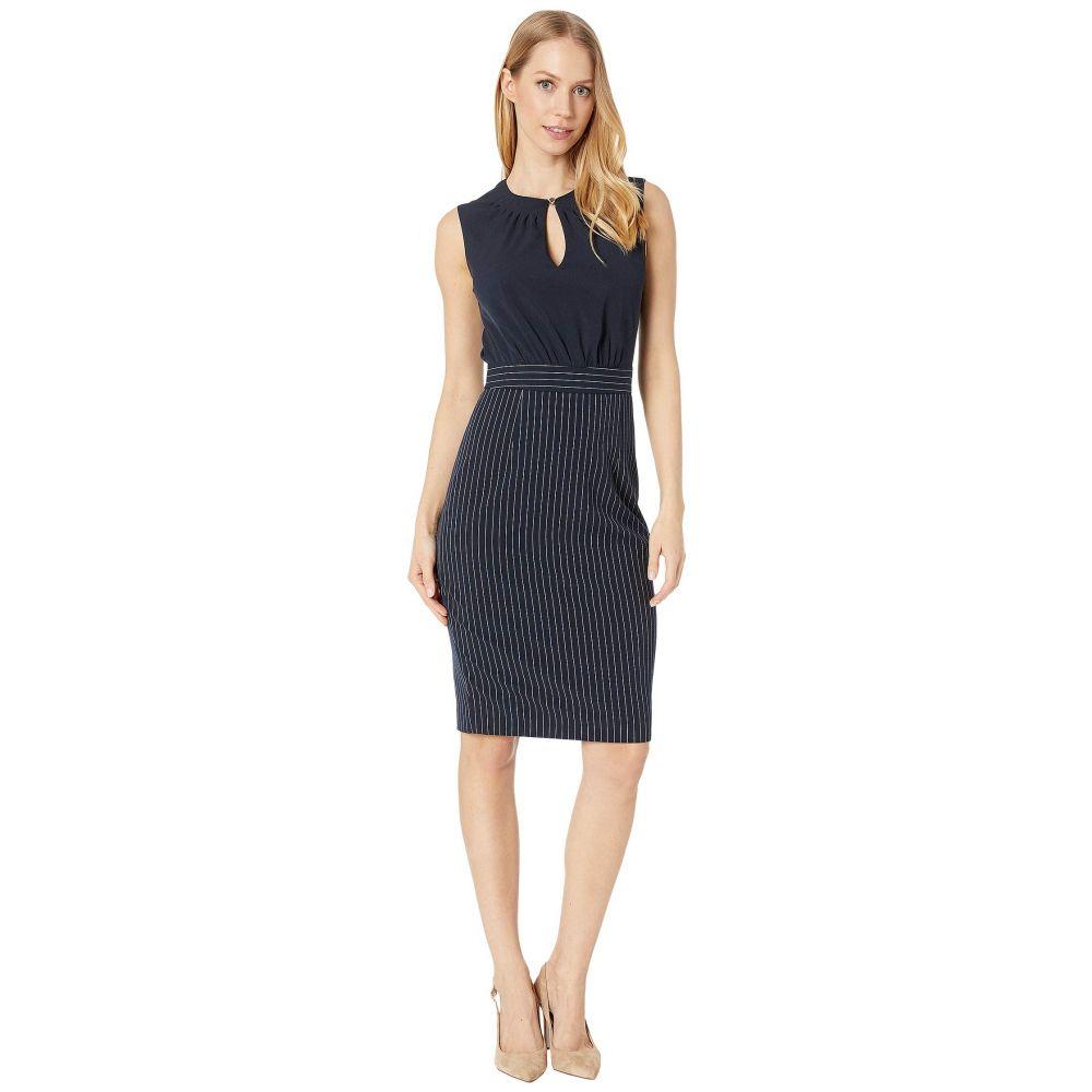 テッドベーカー Ted Baker レディース ワンピース ワンピース・ドレス【Angilad Mockable Dress with Stripe Skirt】Dark Blue