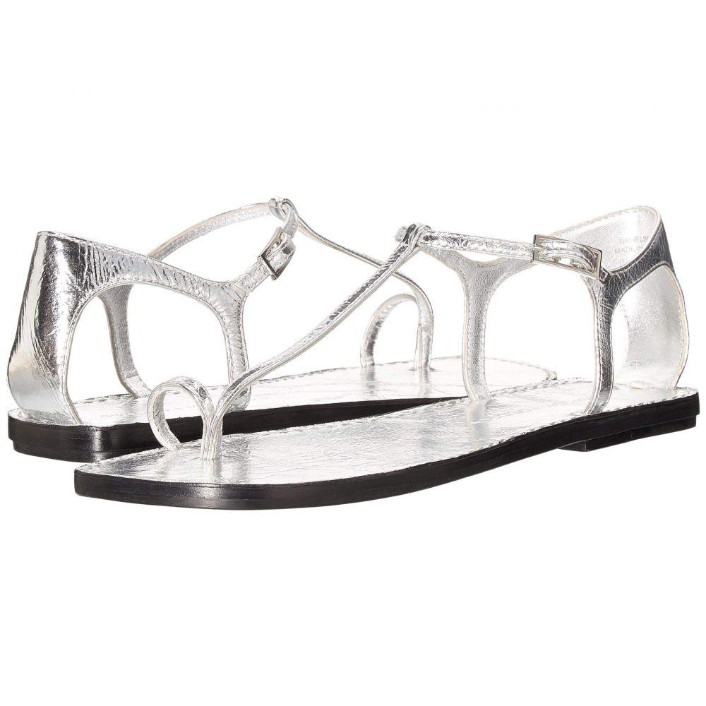 シガーソン モリソン Sigerson Morrison レディース サンダル・ミュール シューズ・靴【Nelson】Silver Leather