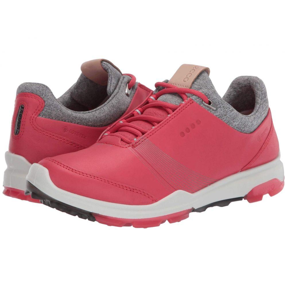 エコー ECCO Golf レディース シューズ・靴 【Biom Hybrid 3 GTX】Teaberry