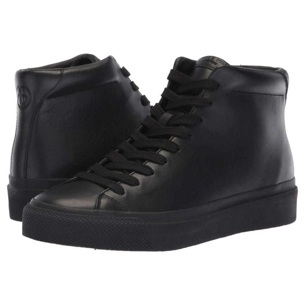 ラグ&ボーン rag & bone メンズ スニーカー シューズ・靴【RB1 High Top Sneakers】Black
