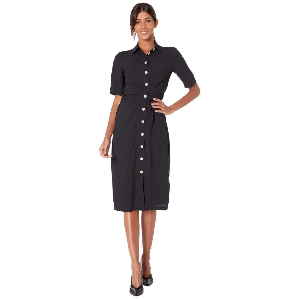 ケイト スペード Kate Spade New York レディース ワンピース シャツワンピース ワンピース・ドレス【Button Front Shirtdress】Black
