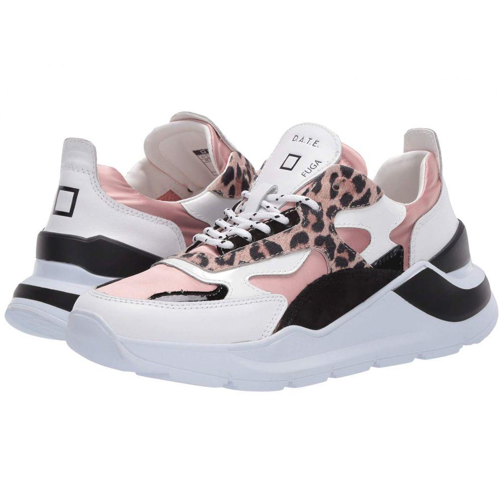 デイト D.A.T.E. レディース スニーカー シューズ・靴【Fuga】Leopard Pink/Sand