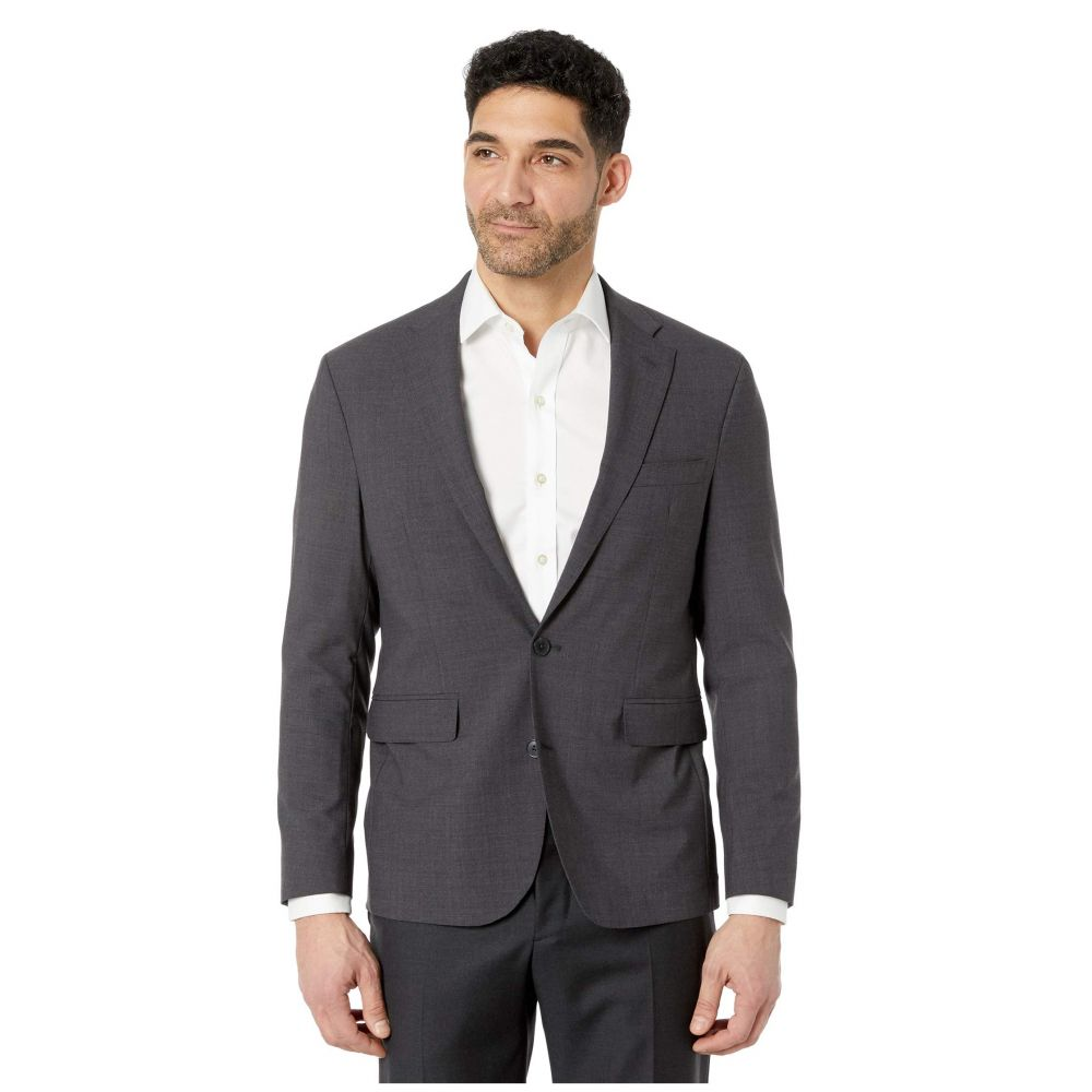 コールハーン Cole Haan メンズ スーツ・ジャケット アウター【Slim Fit Suit Separate Coat】Charcoal