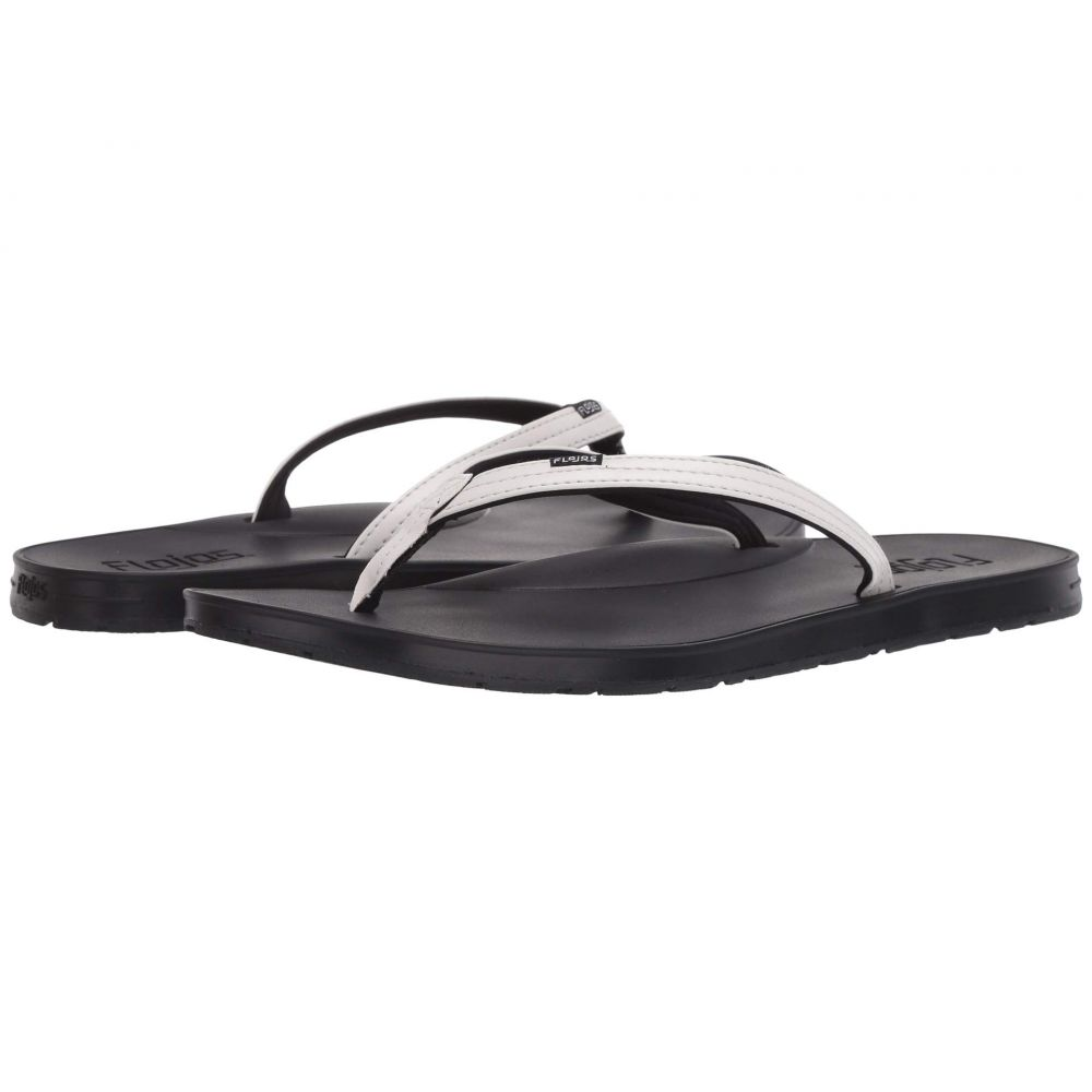 フロジョス Flojos レディース ビーチサンダル シューズ・靴【Ezra】White