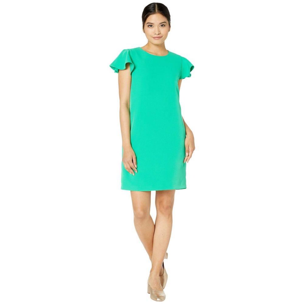 ミリー Milly レディース ワンピース ワンピース・ドレス【Cady Bryce Ruffle Sleeve Dress】Kelly