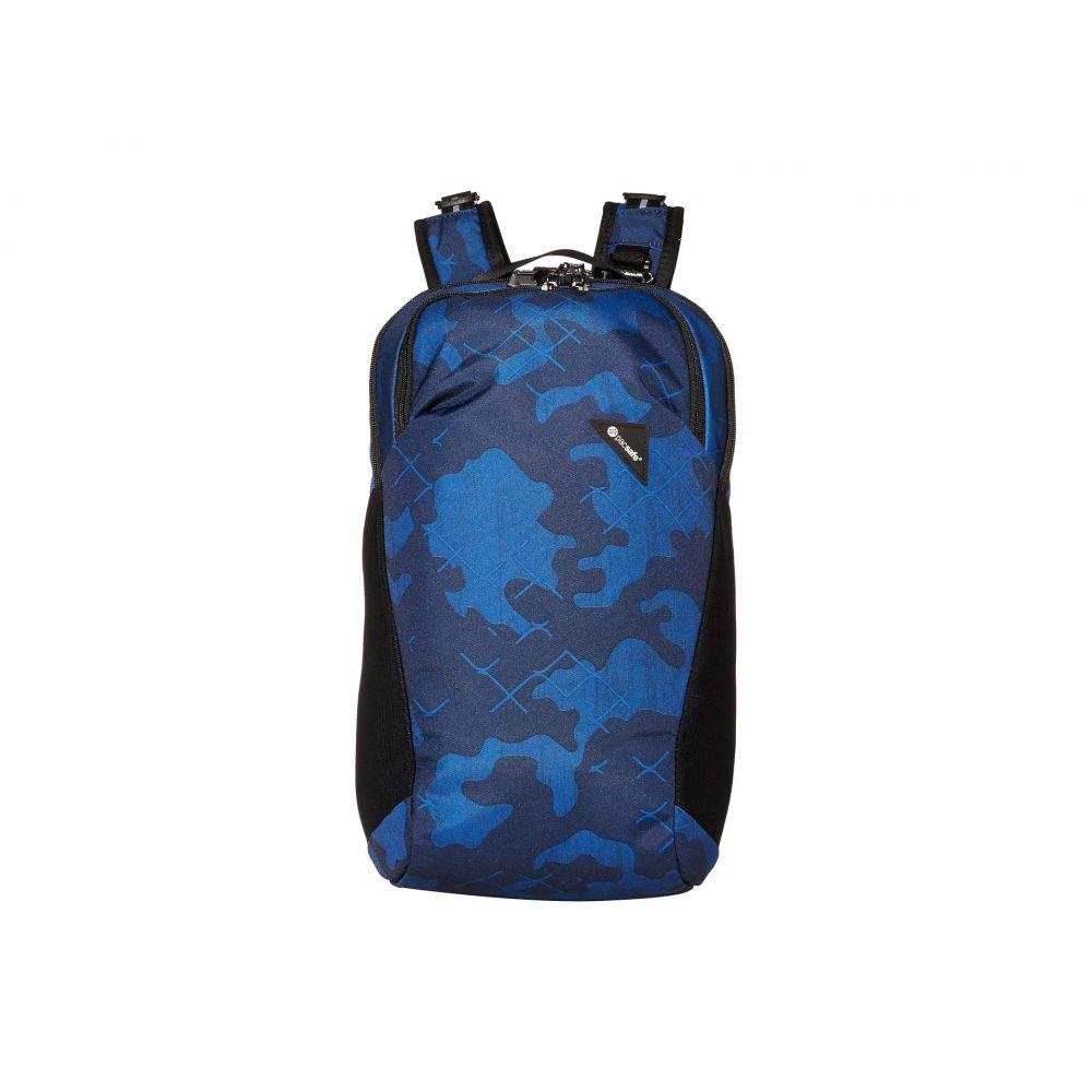 パックセーフ Pacsafe レディース バックパック・リュック バッグ【Vibe 20 Anti-Theft 20L Backpack】Blue Camo