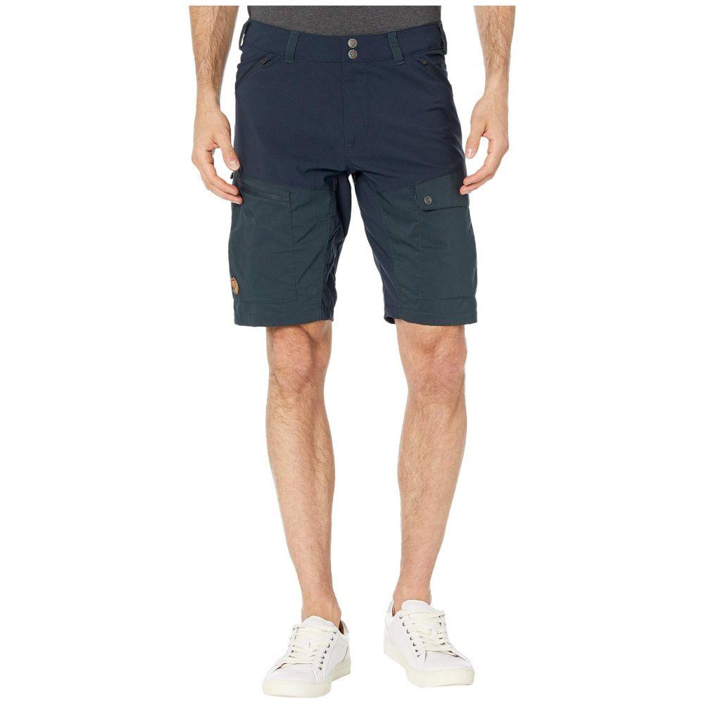 フェールラーベン Fjallraven メンズ ショートパンツ ボトムス・パンツ【Abisko Midsummer Shorts】Dark Navy