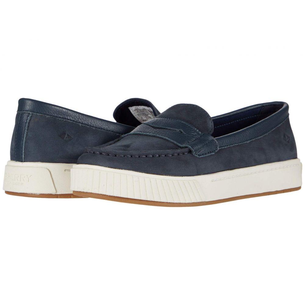 スペリー Sperry レディース スニーカー シューズ・靴【Anchor PlushWave Penny Sneaker】Navy