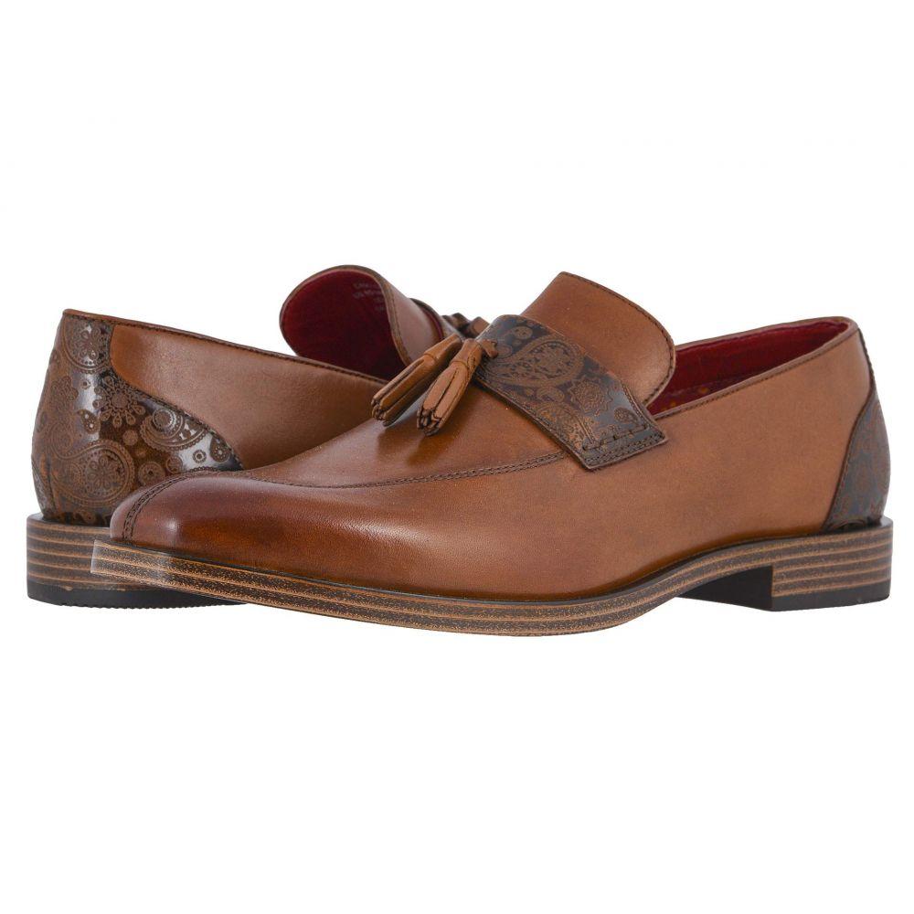 ステイシー アダムス Stacy Adams メンズ スリッポン・フラット シューズ・靴【Quinby Tassel Slip-On】Tan