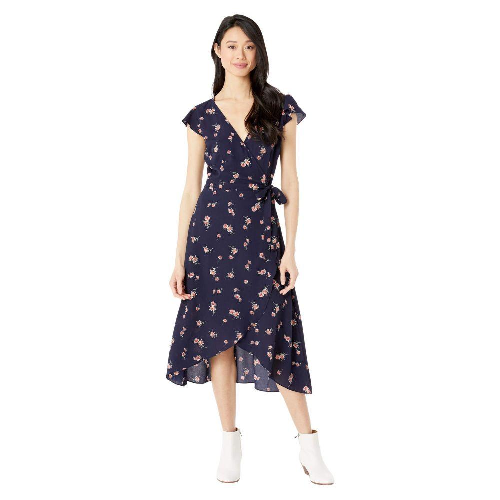 ビービーダコタ BB Dakota レディース ワンピース バブルドレス ラップドレス ワンピース・ドレス【April Showers 'Scattered Daisies' Printed Bubble Crepe Wrap Dress】Oilslick