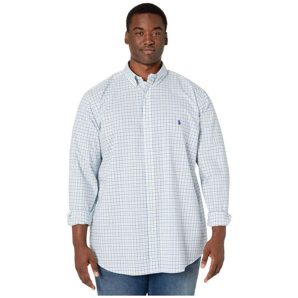 ラルフ ローレン Polo Ralph Lauren Big & Tall メンズ シャツ 大きいサイズ トップス【Big & Tall Classic Fit Poplin Shirt】Blue/Green Multi