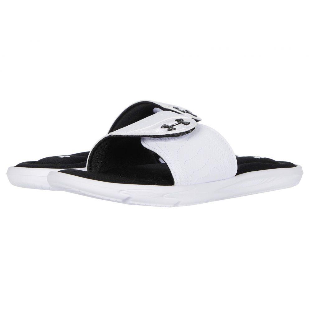 アンダーアーマー Under Armour レディース サンダル・ミュール シューズ・靴【UA Ignite IX SL】White/Black/White