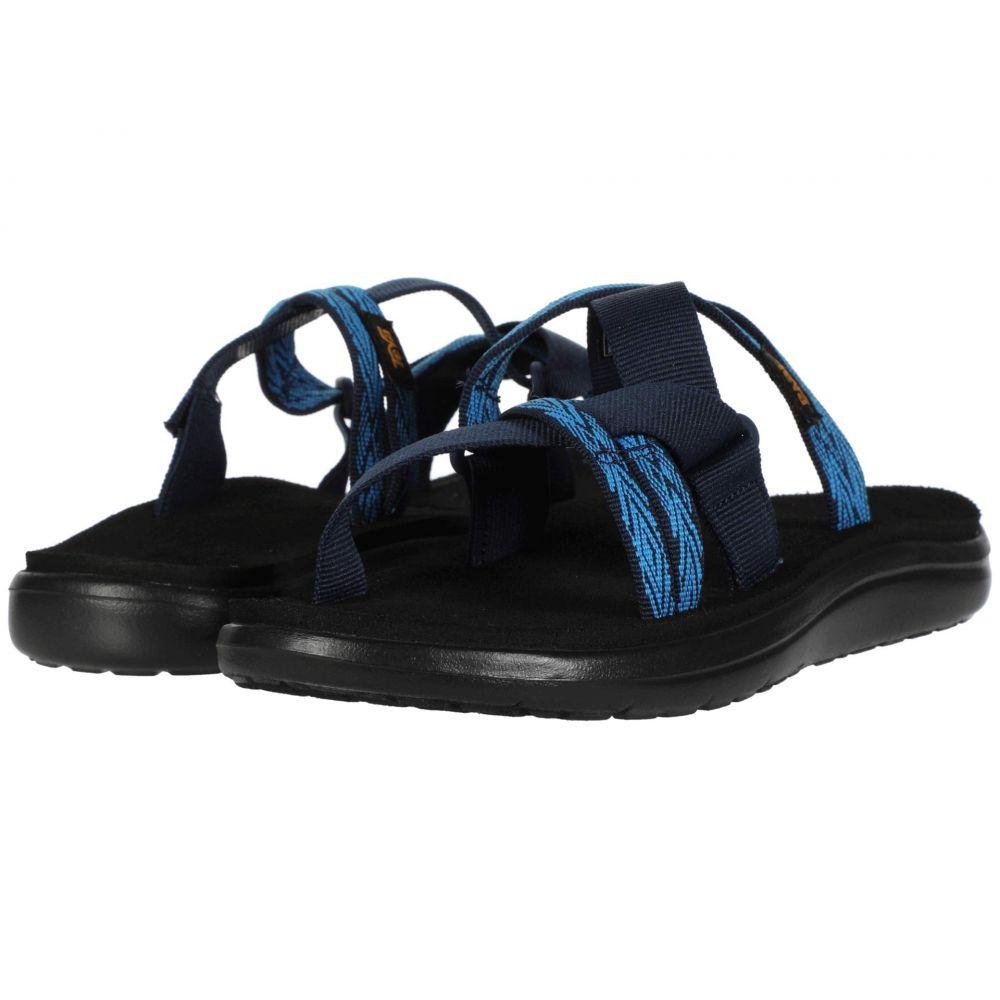 テバ Teva レディース サンダル・ミュール シューズ・靴【Voya Slide】Quita Black/Iris