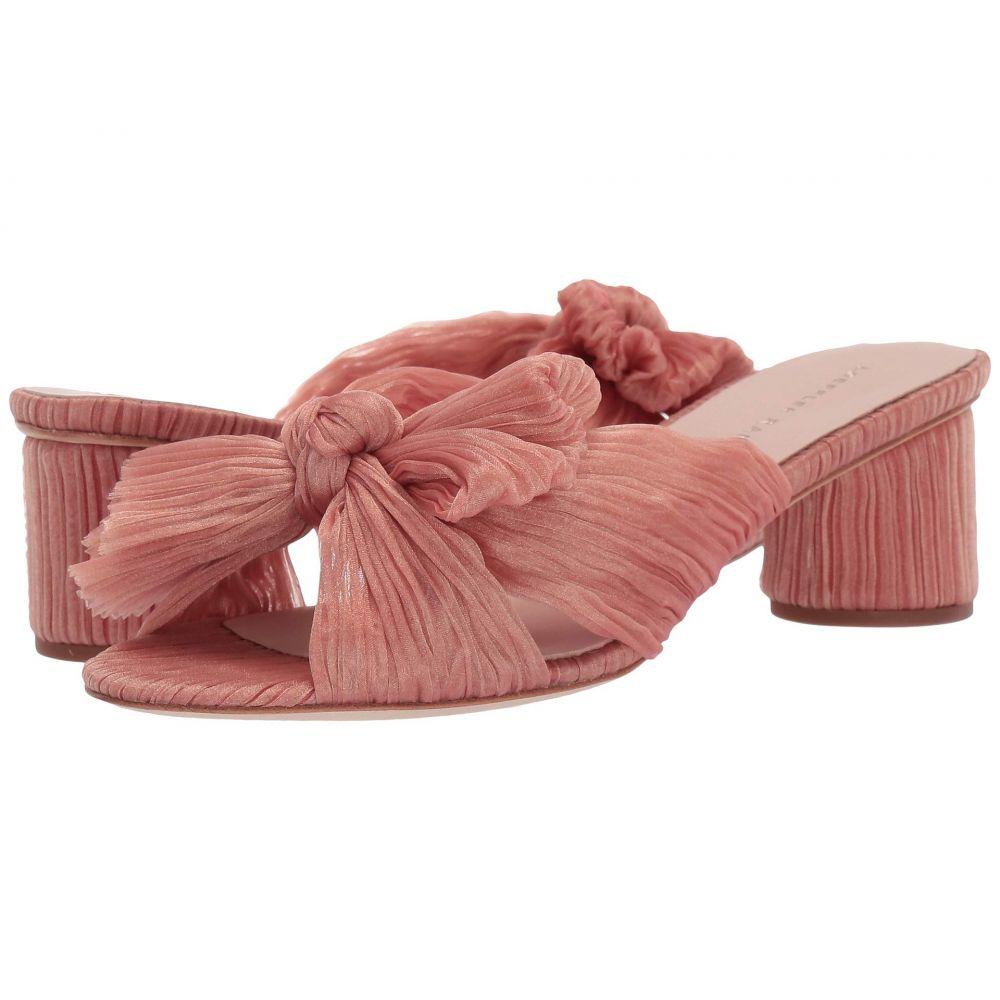 ロフラーランドール Loeffler Randall レディース サンダル・ミュール シューズ・靴【Emilia Pleated Knot Mule】Bermuda Pink