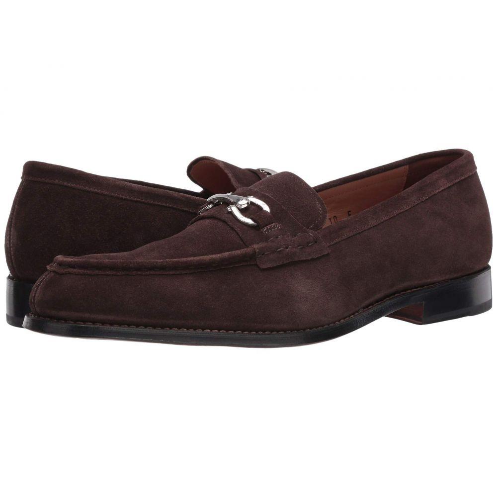 グレンソン Grenson メンズ ローファー シューズ・靴【Hamilton Loafer】Chocolate Suede