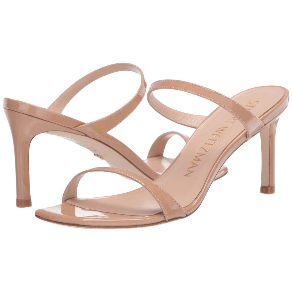 スチュアート ワイツマン Stuart Weitzman レディース サンダル・ミュール シューズ・靴【Aleena 75】Adobe Patent