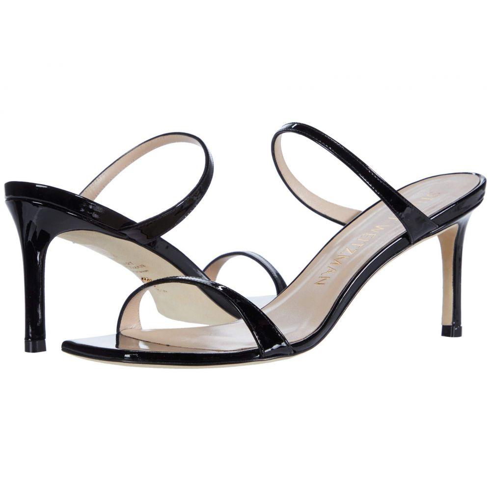 スチュアート ワイツマン Stuart Weitzman レディース サンダル・ミュール シューズ・靴【Aleena 75】Black Patent