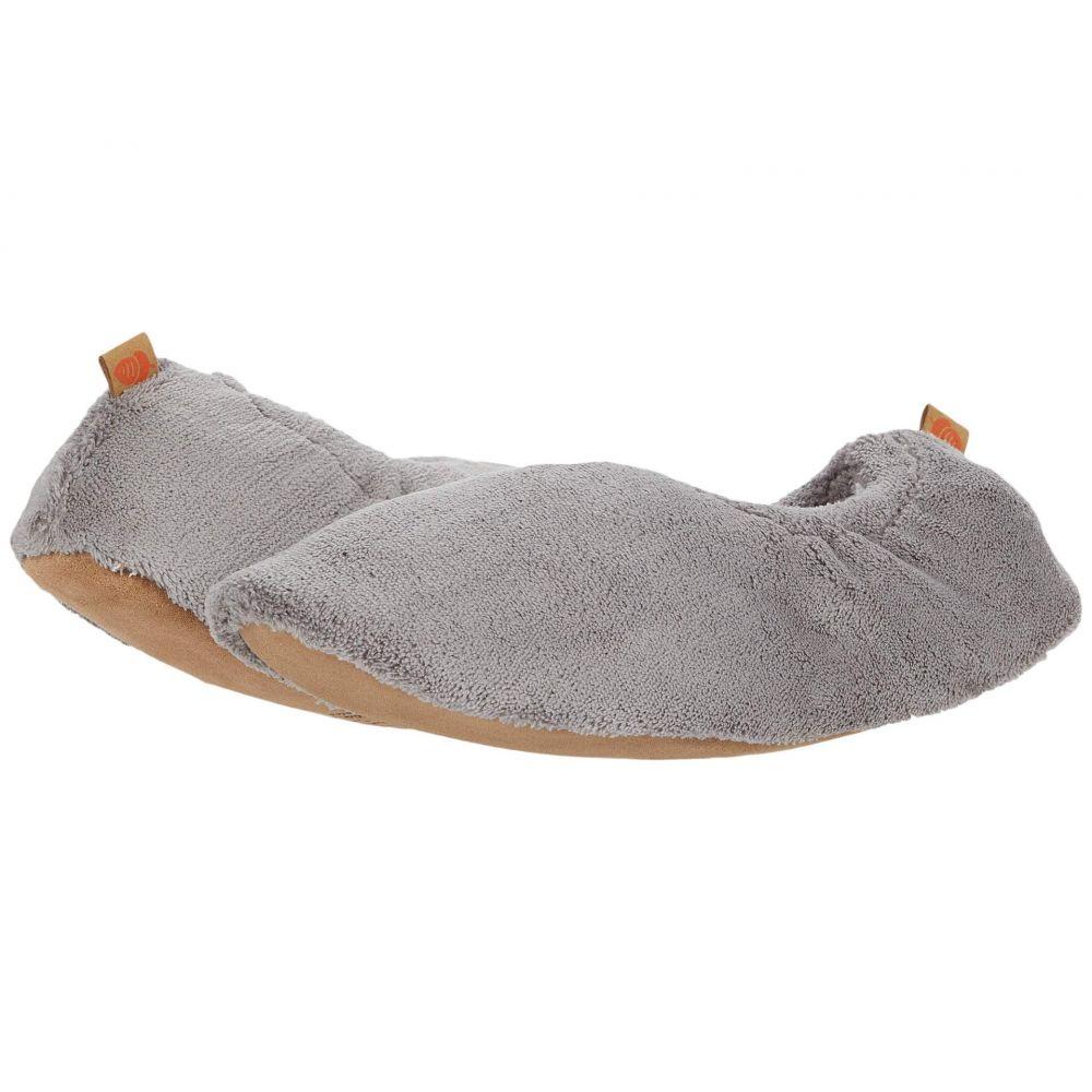 エーコーン Acorn レディース スリッパ シューズ・靴【Spa Travel Slipper】Grey
