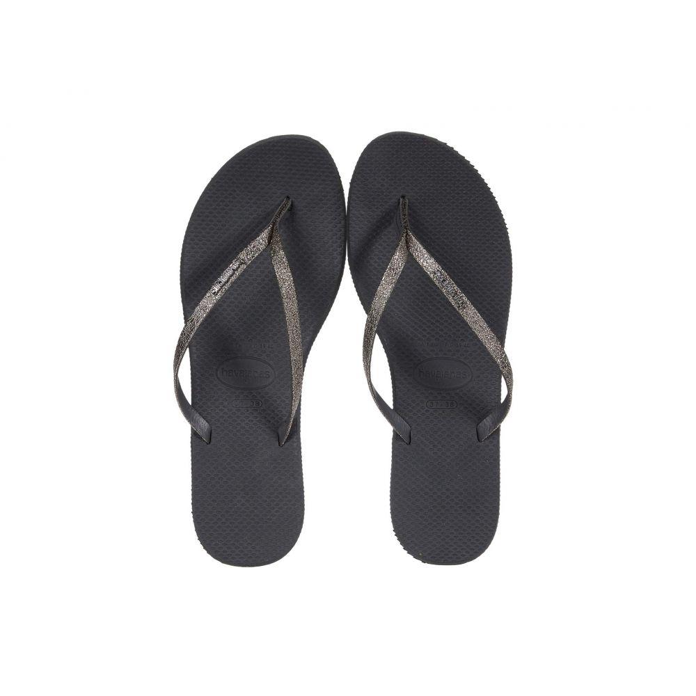 ハワイアナス Havaianas レディース ビーチサンダル シューズ・靴【You Shine Sandal】New Graphite