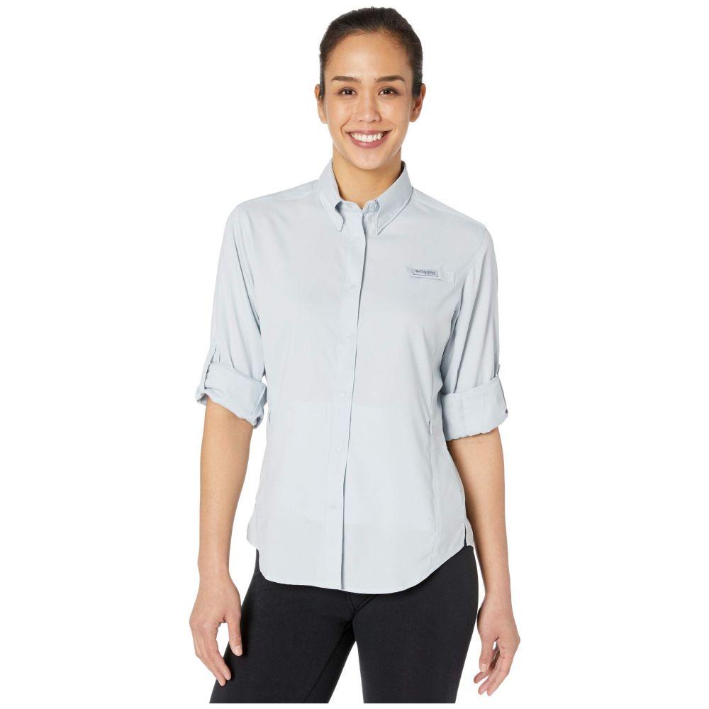 コロンビア Columbia レディース ブラウス・シャツ トップス【Tamiami(TM) II L/S Shirt】Cirrus Grey