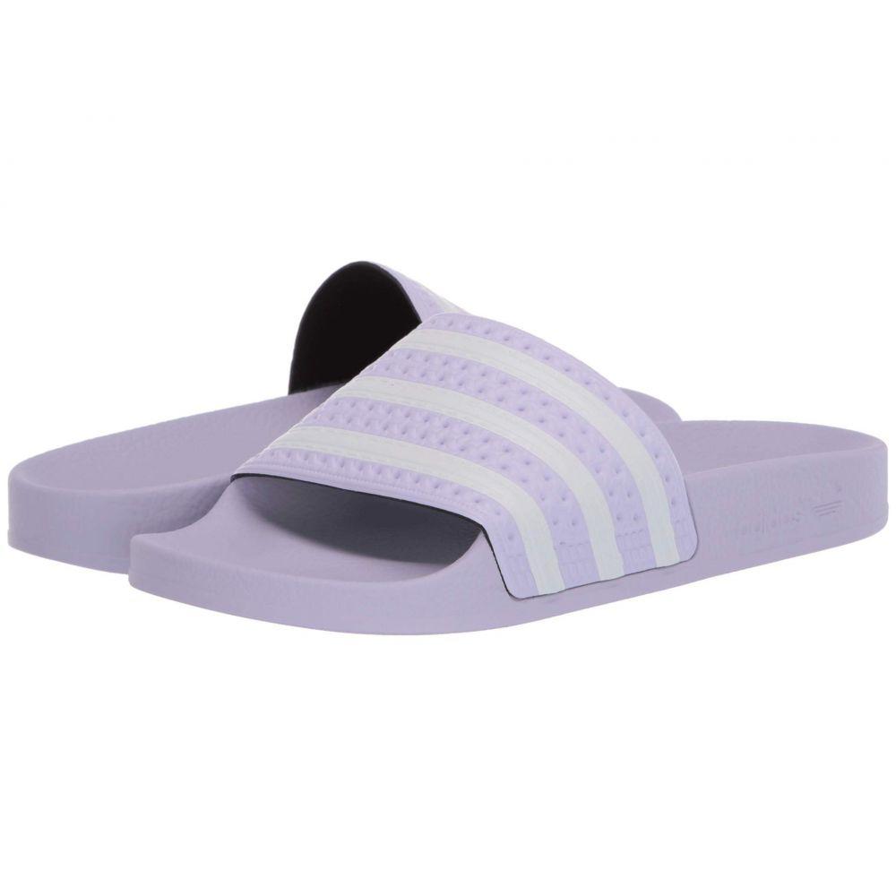 アディダス adidas レディース サンダル・ミュール シューズ・靴【Adilette】Purple Tint/Footwear White/Purple Tint