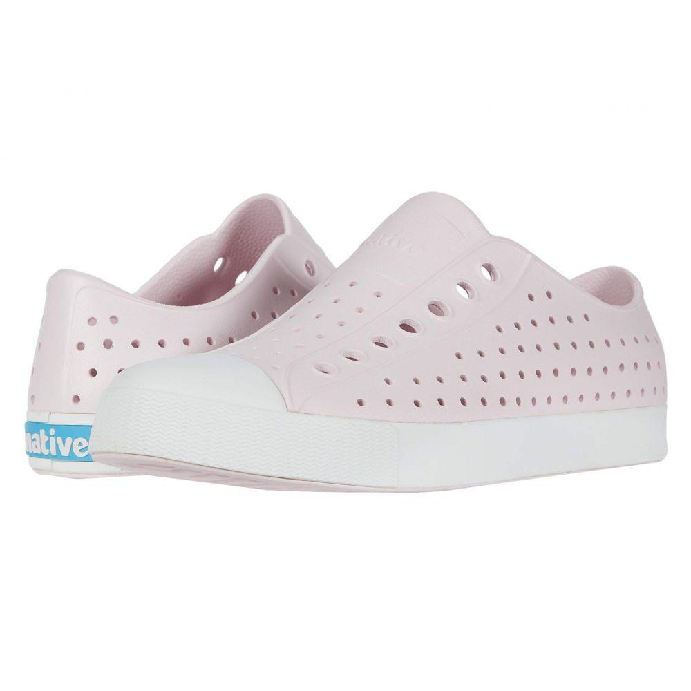 ネイティブ シューズ Native Shoes レディース スニーカー シューズ・靴【Jefferson】Milk Pink/Shell White
