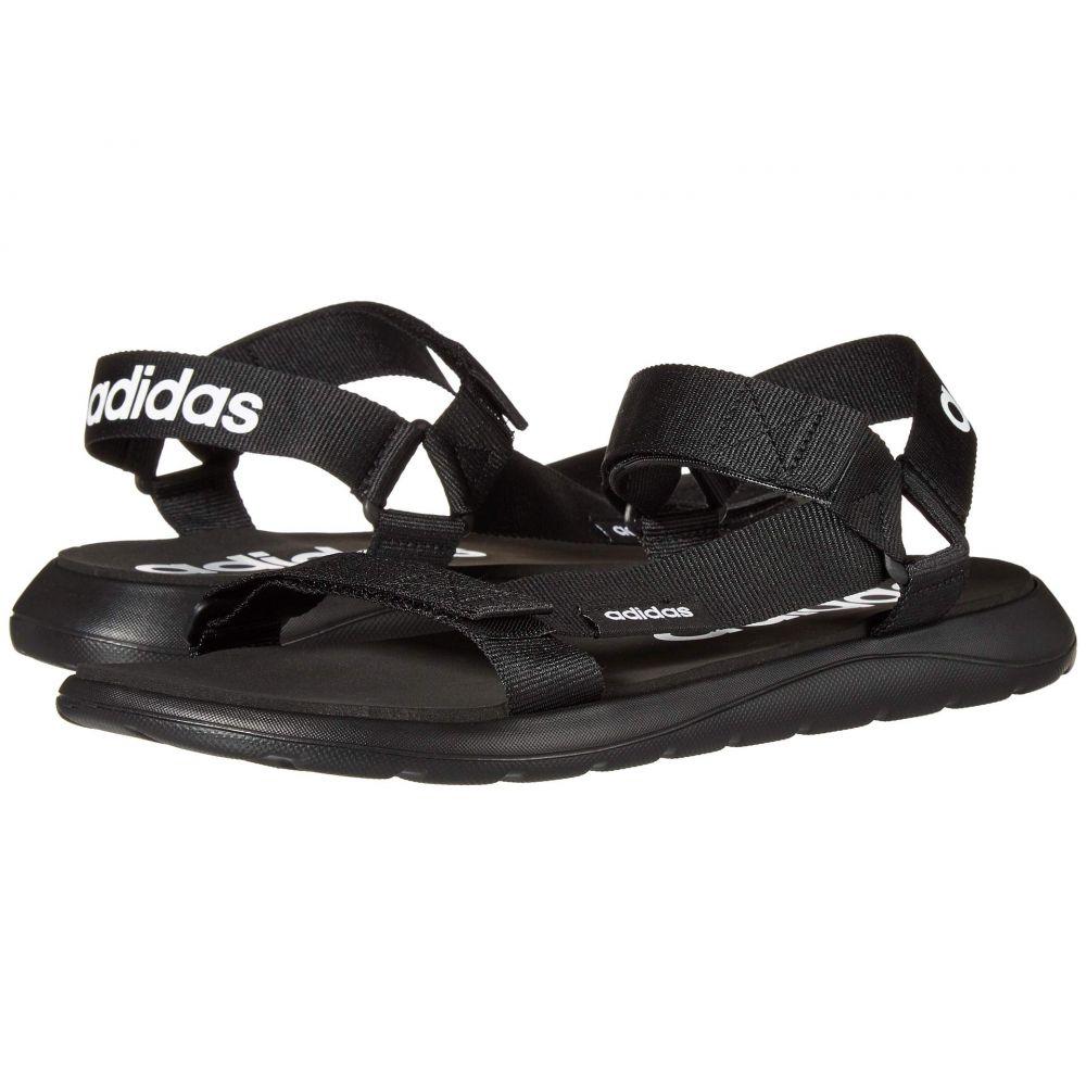 アディダス adidas レディース サンダル・ミュール シューズ・靴【Comfort Sandal】Core Black/Core Black/Footwear White