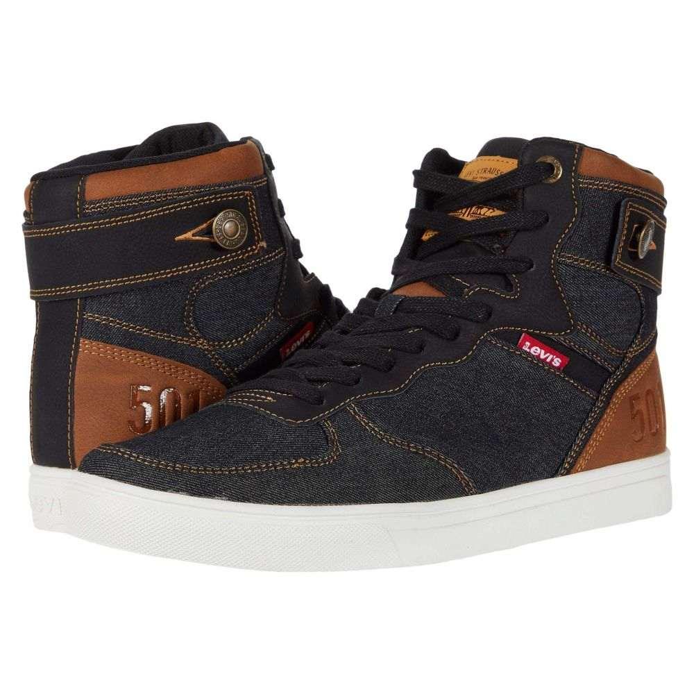 リーバイス Levi's Shoes メンズ スニーカー シューズ・靴【Jeffrey Hi 501 Denim UL NB】Black/Tan