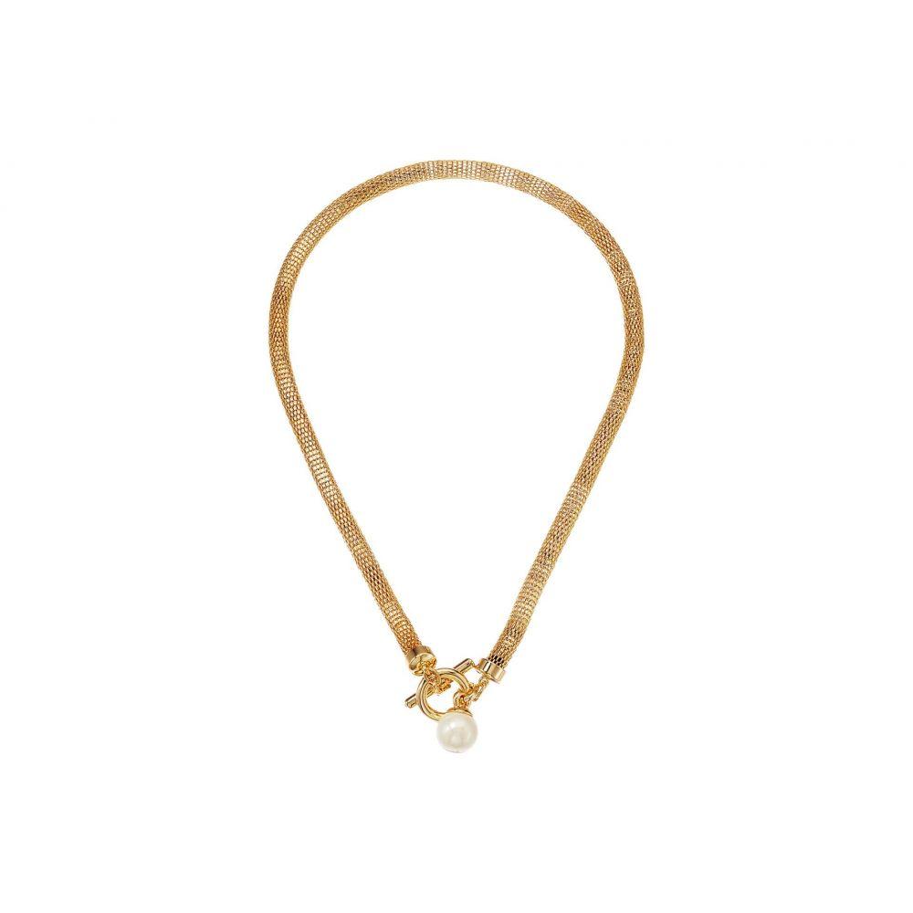 ラルフ ローレン LAUREN Ralph Lauren レディース ネックレス ジュエリー・アクセサリー【16' Mesh Toggle Pendant Necklace】Gold