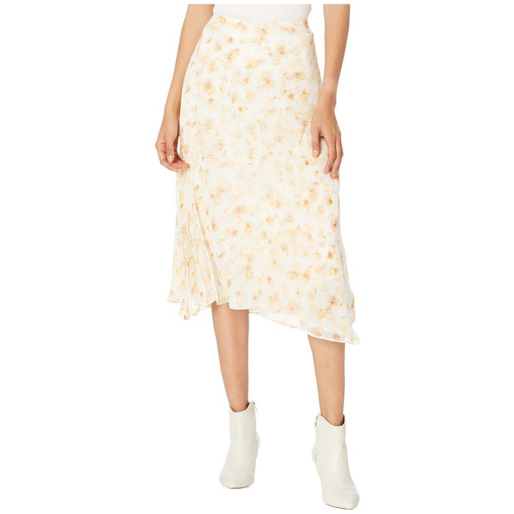 ヴィンス Vince レディース スカート 【Pressed Petal Panel Skirt】Off-White