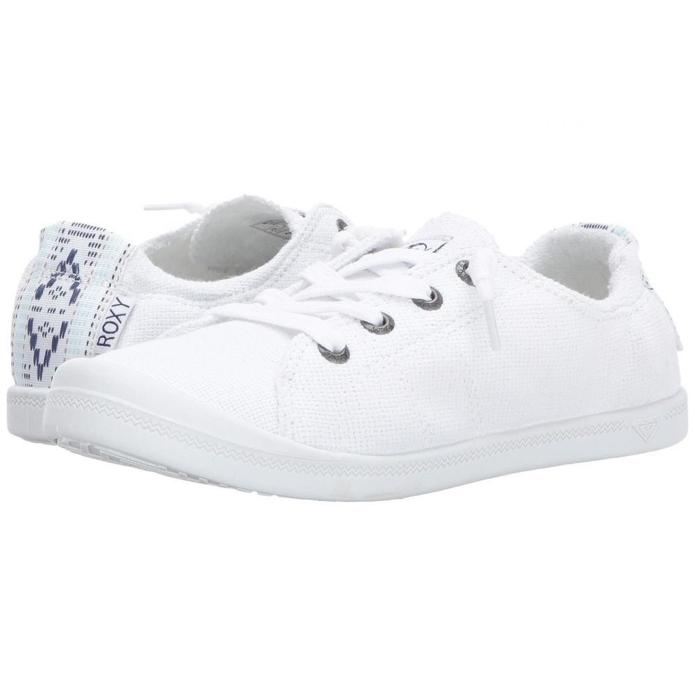 ロキシー Roxy レディース スニーカー シューズ・靴【Bayshore III】White