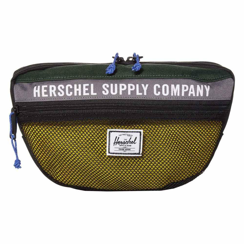 ハーシェル サプライ Herschel Supply Co. レディース ボディバッグ・ウエストポーチ バッグ【Nineteen】Greener Pastures/Grey/Cyber Yellow