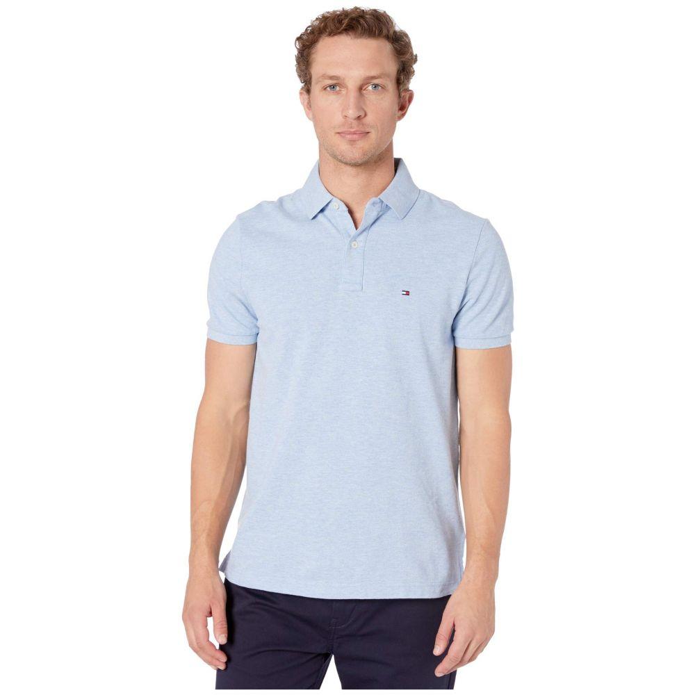 トミー ヒルフィガー Tommy Hilfiger メンズ ポロシャツ トップス【Ivy Polo Shirt Custom Fit】Malaga Blue Heather