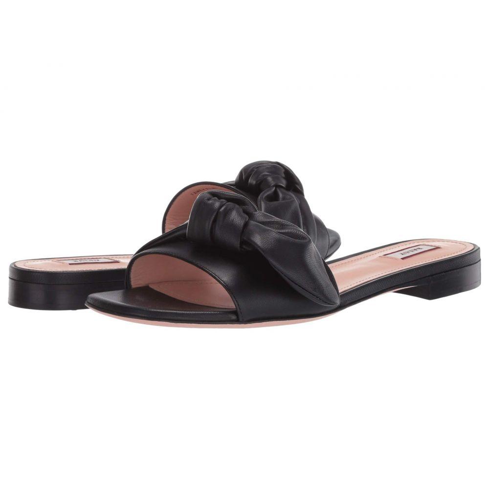 バリー Bally レディース サンダル・ミュール フラット シューズ・靴【Faney Flat Sandal】Black