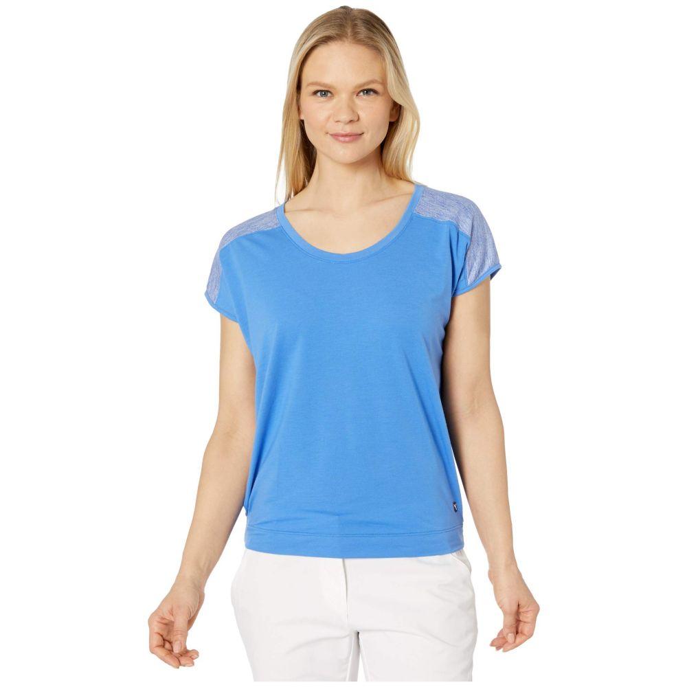 プーマ PUMA Golf レディース Tシャツ トップス【Slouchy Tee】Palace Blue/Palace Blue Heather
