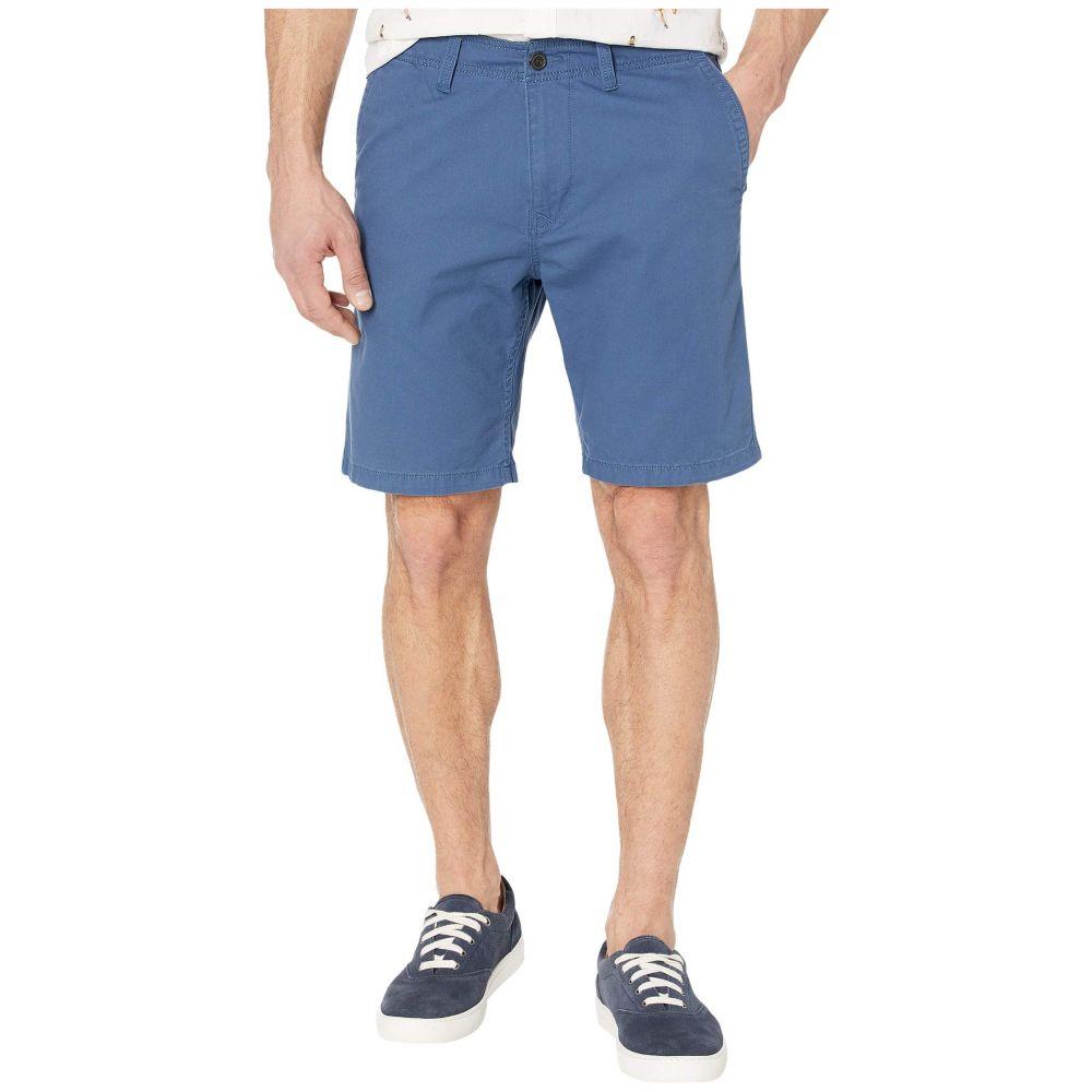 ラッキーブランド Lucky Brand メンズ ショートパンツ ボトムス・パンツ【Flat Front Shorts】Clancy Blue