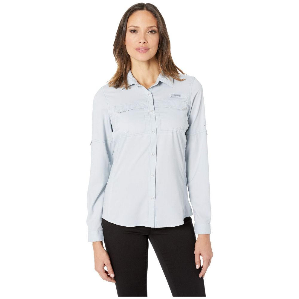 コロンビア Columbia レディース ブラウス・シャツ トップス【Lo Drag(TM) Long Sleeve Shirt】Cirrus Grey