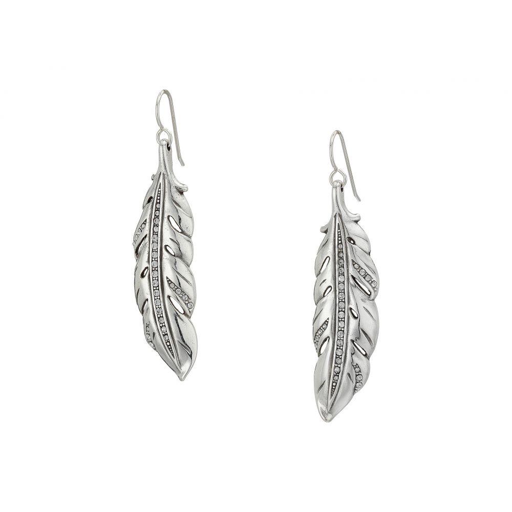ブライトン Brighton レディース イヤリング・ピアス ジュエリー・アクセサリー【Contempo Ice Feather French Wire Earrings】Crystal