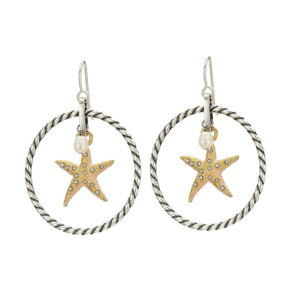 ブライトン Brighton レディース イヤリング・ピアス ジュエリー・アクセサリー【Under The Sea Starfish French Wire Earrings】Two-Tone